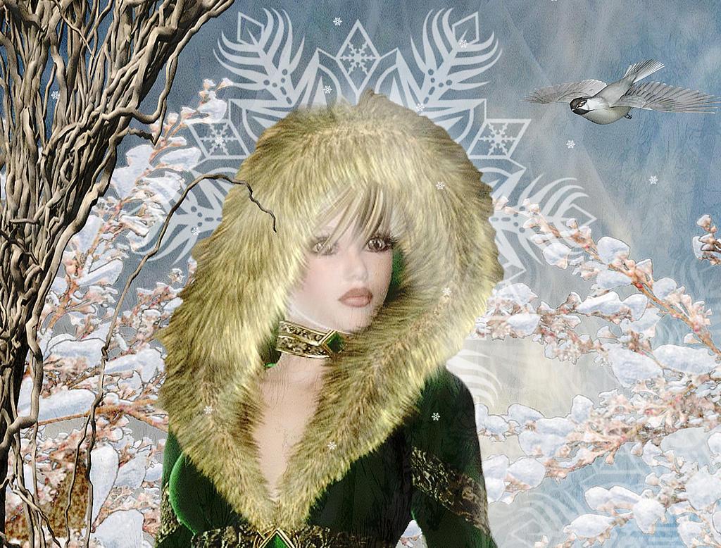 Winter Elf Detail 2 by amethystmoonsong