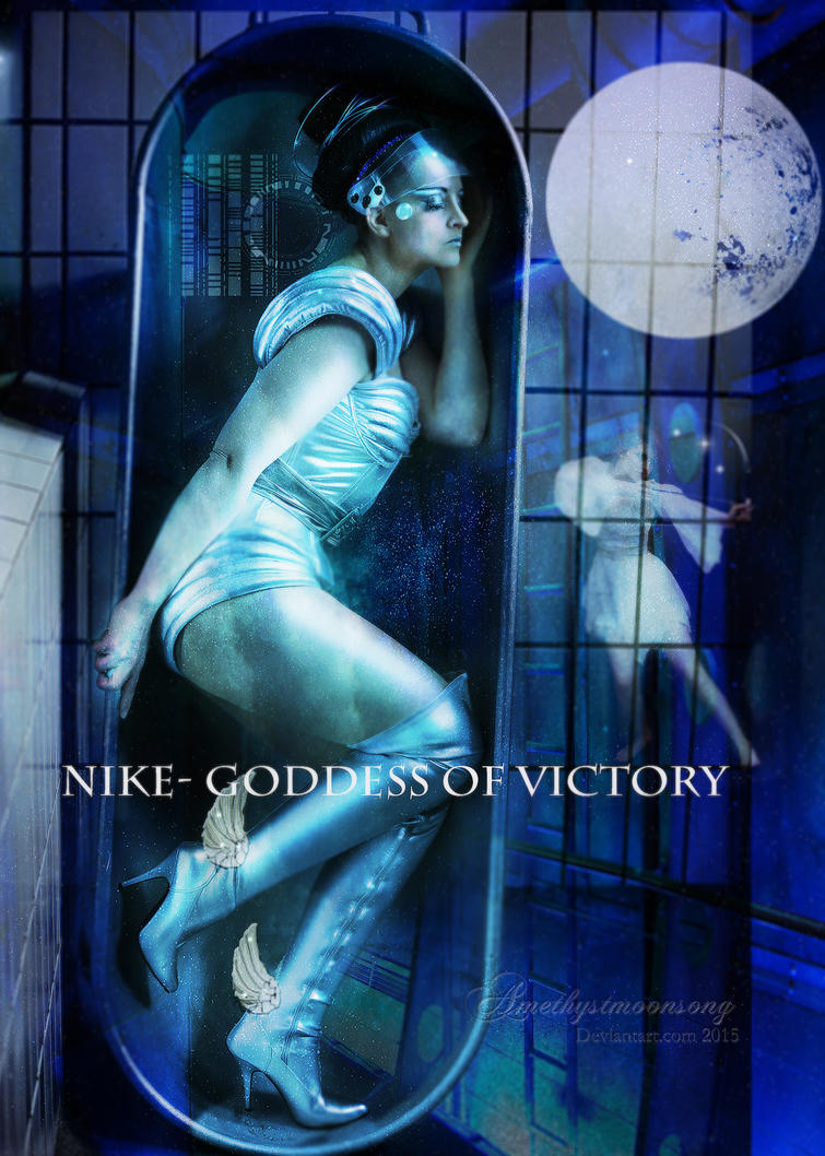 Nike- Goddess of Victory by amethystmoonsong