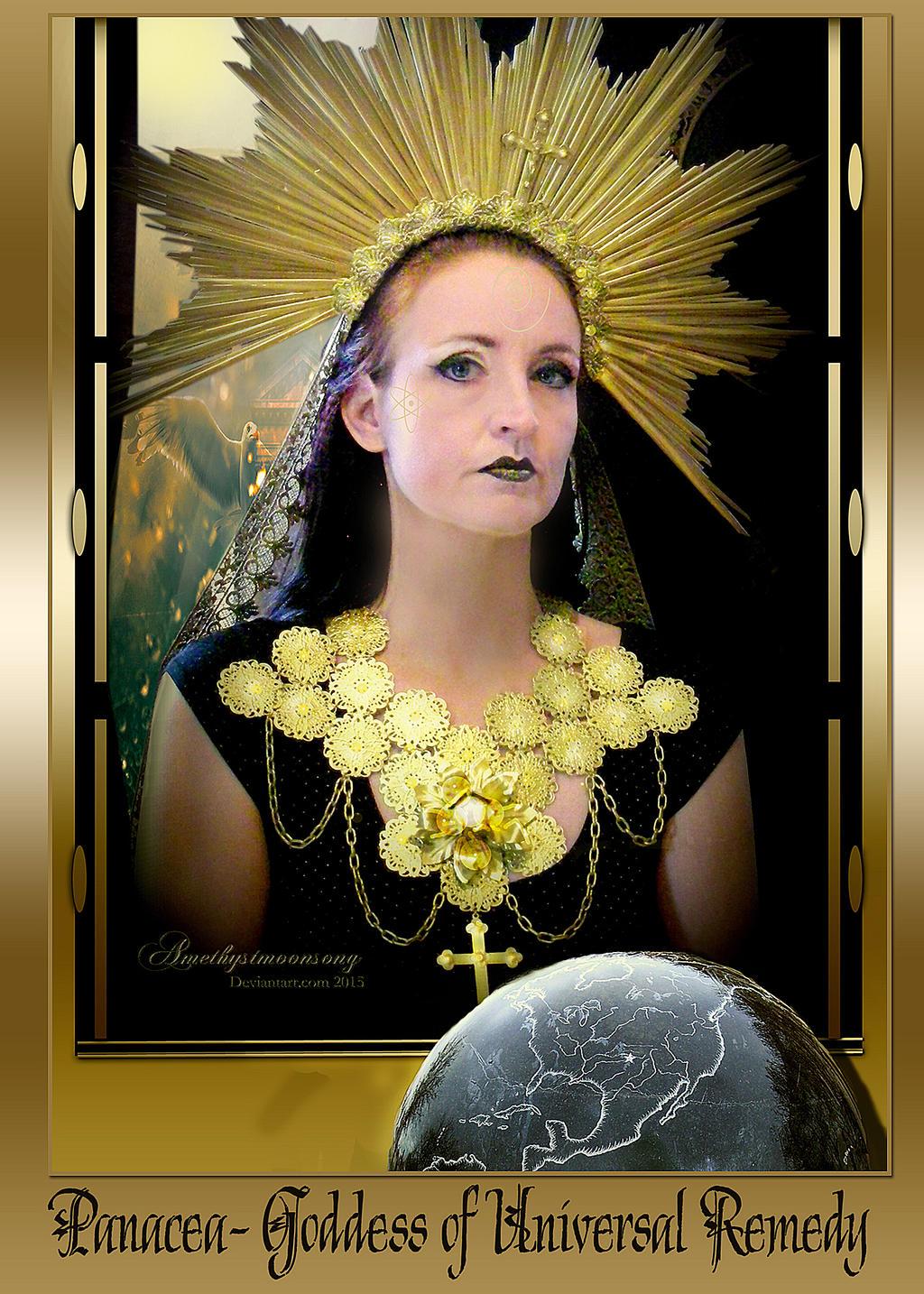 Panacea- Goddess Of Universal Remedy By Amethystmoonsong