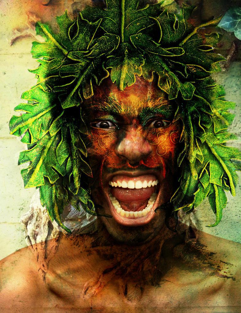 Green Man by amethystmoonsong