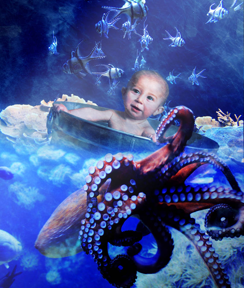 Octopus Garden by amethystmoonsong