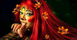 Tiger Lily Detail by amethystmoonsong