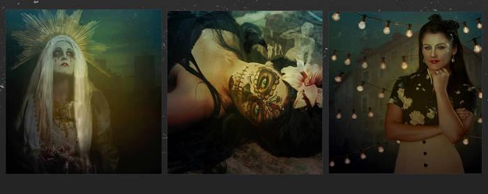 Las hijas de la muerte- Triptych