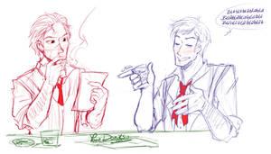 + Crossover - Sketch: Blablabla ... +