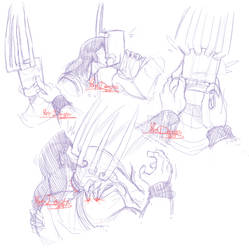 Brutal Legend - Sketches: Touch by Yore-Donatsu