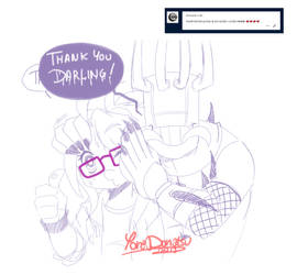 Brutal Legend - Ask: Thanks by Yore-Donatsu