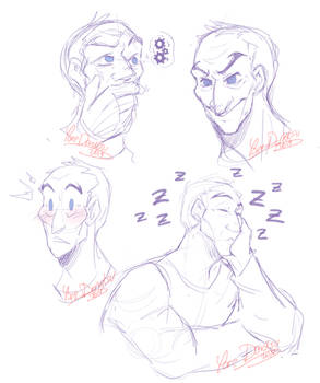 OW - Sketches: Sigma's Expression 02