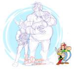 Asterix - Sketch: Hommage Gaulois
