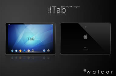 the iTab 17'' pad for designers by walcor
