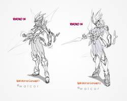 Rihoko Spirit Armor Concepts by walcor