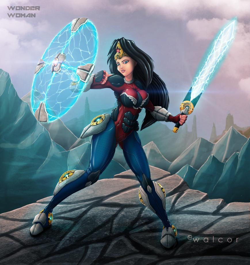 Wonder Woman by walcor