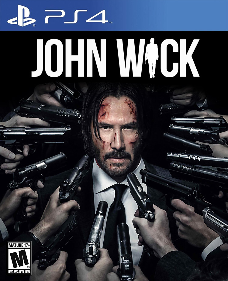 John Wick Video Game Cover By Thecunningcondor On Deviantart