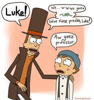 Luke and Layton