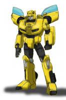 Movie Bumblebee, G1-ized by EmeraldBeacon