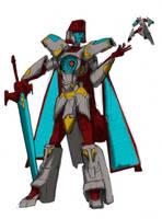 Gender Swap: Vector Prime by EmeraldBeacon