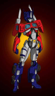 Gender Swap: Optimus Prime