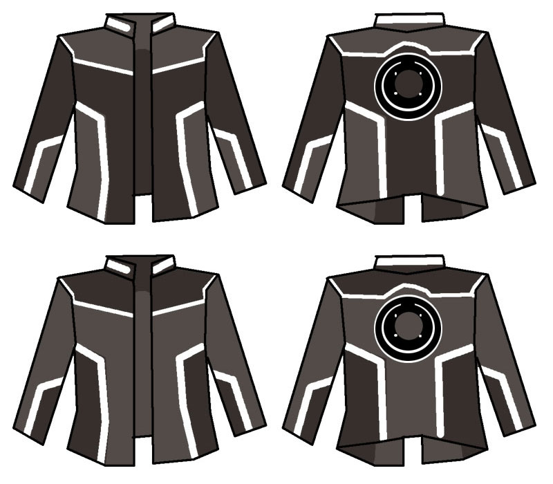 Tron Jacket Concepts by EmeraldBeacon