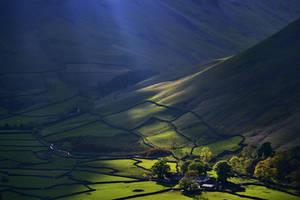 Shining onto the farm