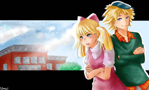 Helga and Arnold [Anime-Style]