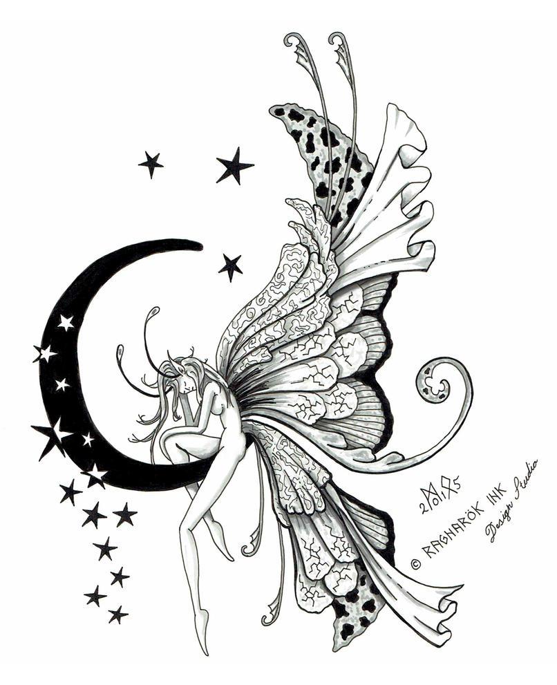 fairy tattoo design by raknarok ink on deviantart. Black Bedroom Furniture Sets. Home Design Ideas