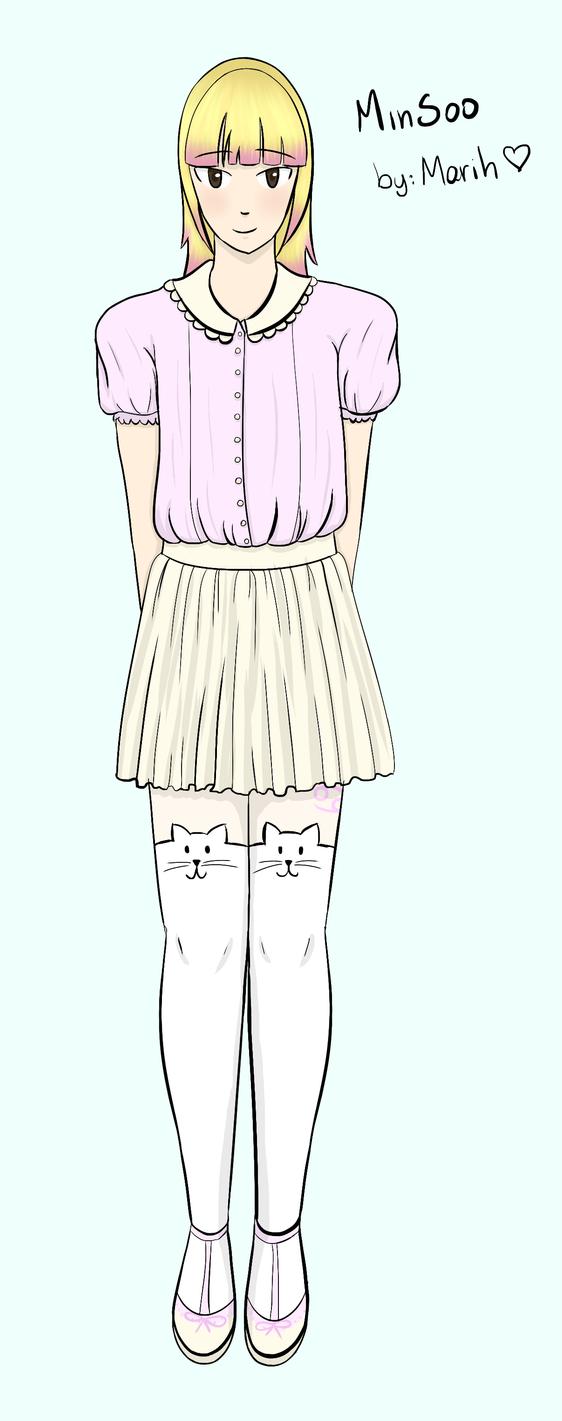 MinSoo - Crossdress by MarihSouza