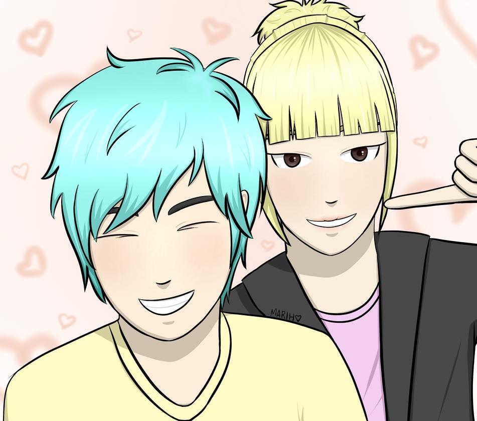 Tae e Min by MarihSouza