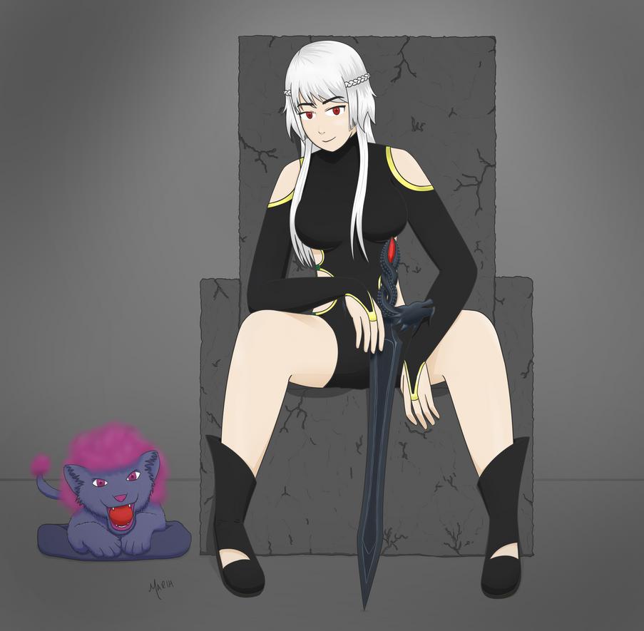 Mizuri the Demon Guardian by MarihSouza