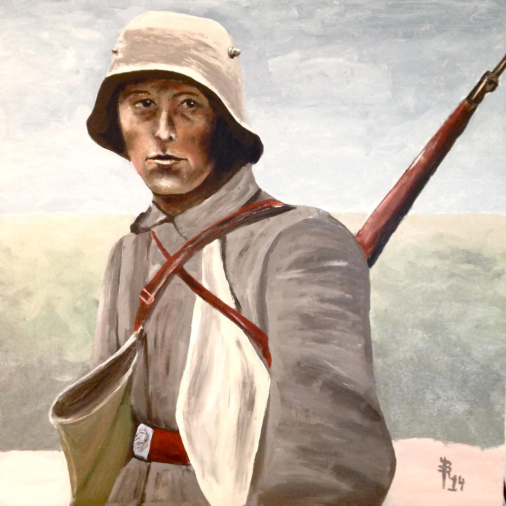 For The Kaiser (Somme 1916) by NausetSouth