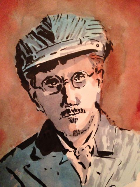 James Joyce by NausetSouth