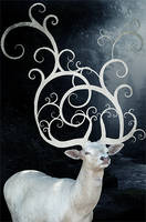 The White Stag by skeelar