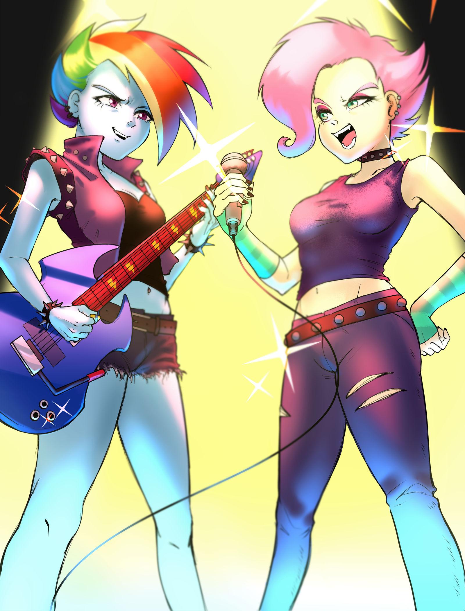 commission__punk_rock_duo_by_amazingpuff
