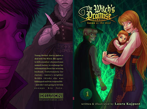 Witch's Promise book 1 cover front/back