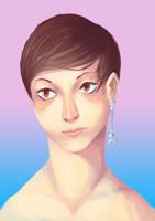 Girl with an earing by Assasin-Kiashi