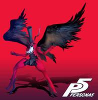 PERSONA 5: ARSENE by Assasin-Kiashi