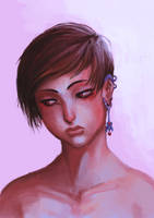 Girl with an earing (REMAKE) by Assasin-Kiashi