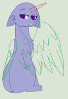 What are you looking at?[mlp/base#3/F2U] by CocoaPOPcorn