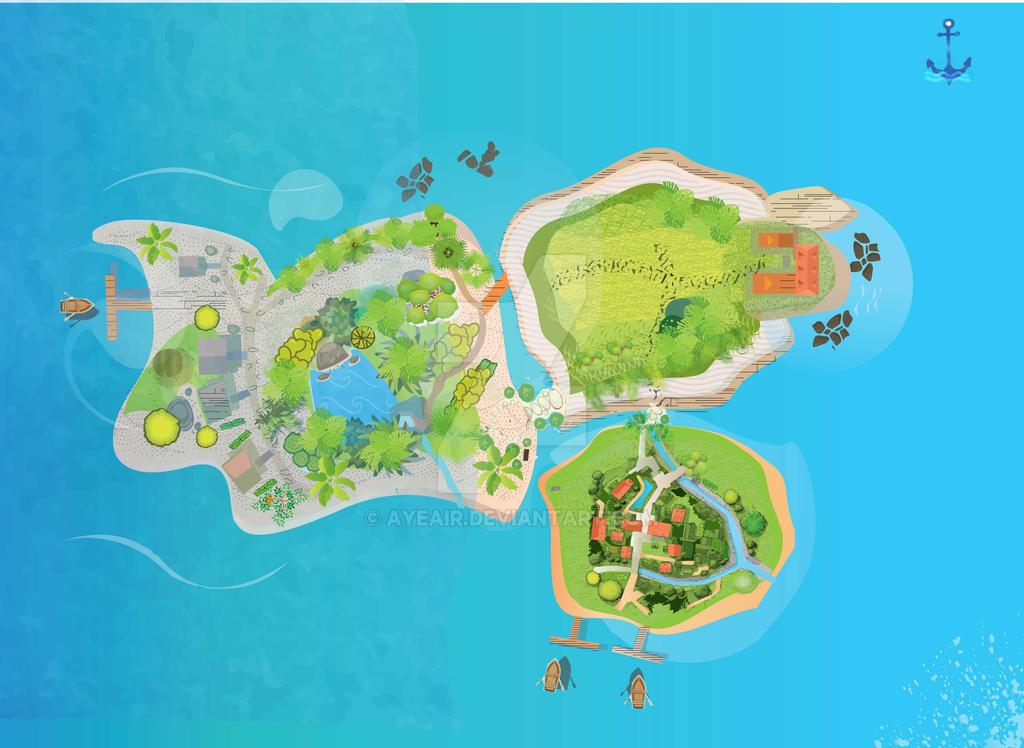 Verona Caye Island by ayeair