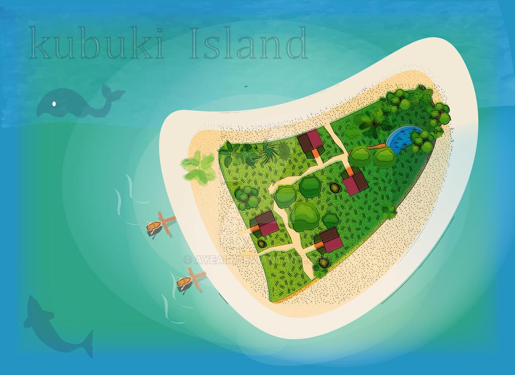 Kubuki Island by ayeair