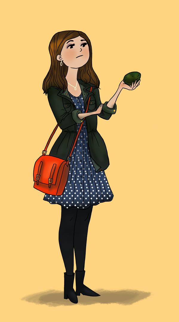 Jenna-Louise by meghanart