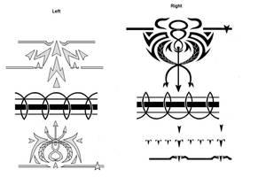 Scar tattoos by behmou