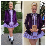 My Irish Dance Solo Dress 2014