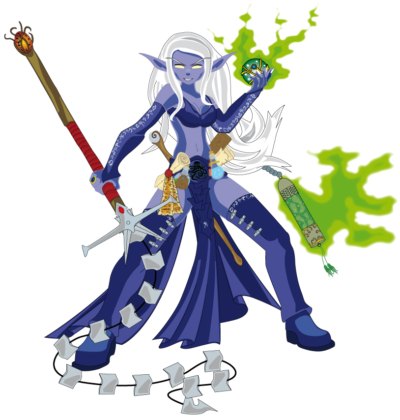 cilka drow by IPARCOS