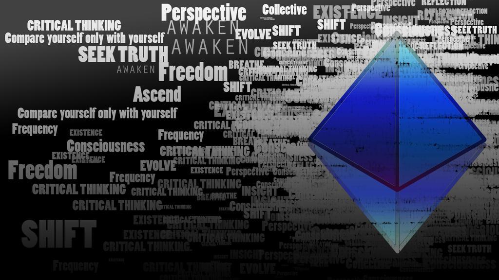Conscious Pyramid by NarashiBear