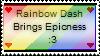 Rainbow Dash Stamp o3o by KoiNomz