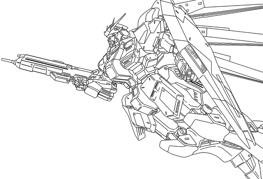 Zaku Lineart : Gundam lineart favourites by mike on deviantart