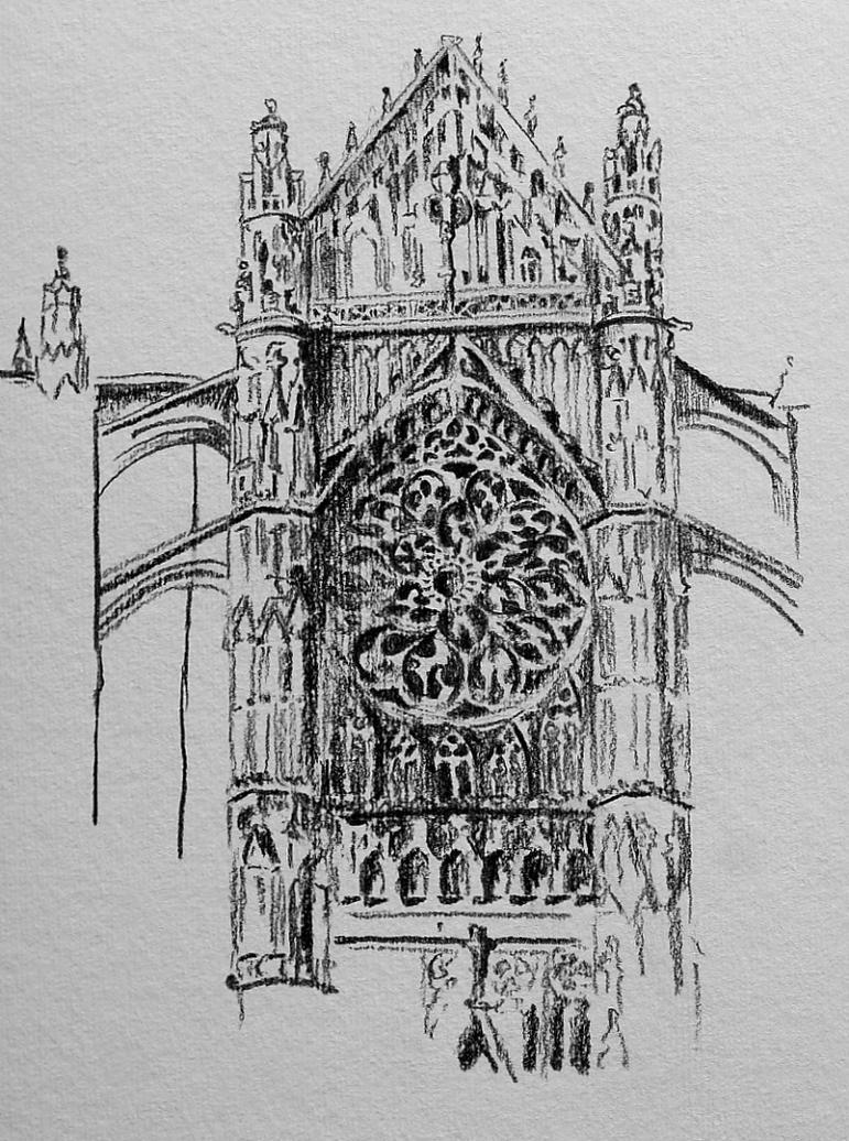 Rouen Cathedral by Freya7
