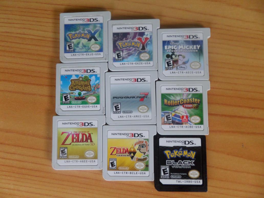Mis juegos de 3DS by LinkMasterXP