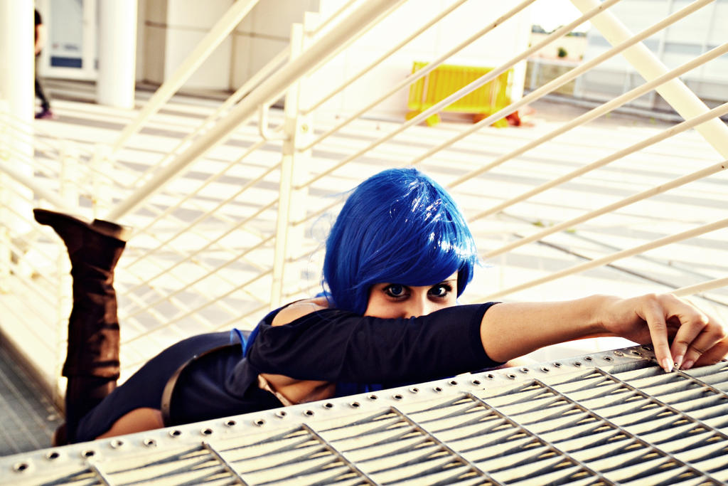 Cosplay Juvia - Fairy tail by Emy182