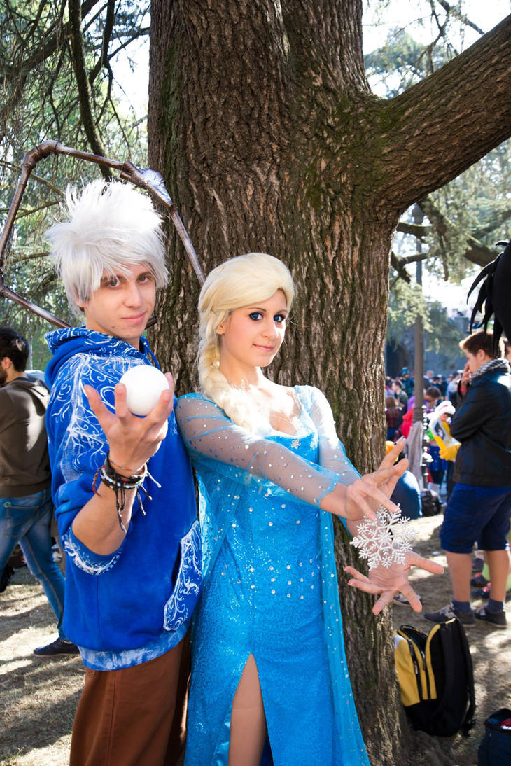 'Jelsa' Elsa x Jack Frost cosplay by Emy182