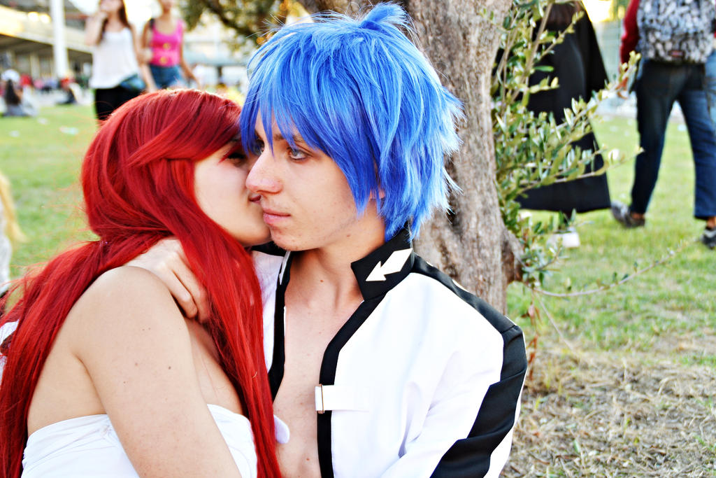 ErzaxGerard - Fairy tail cosplay by Emy182